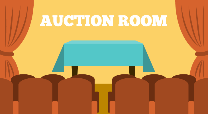 auctioning a house room