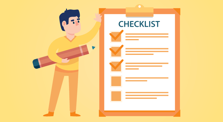 companies that buy houses checklist